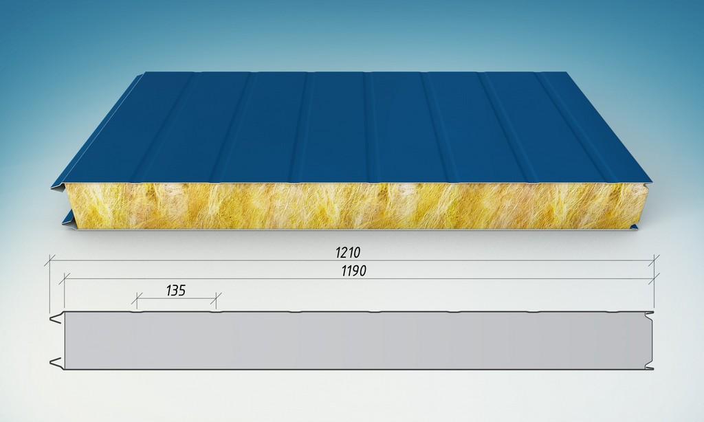 Стеновые сэндвич-панели из бальзатового волокна